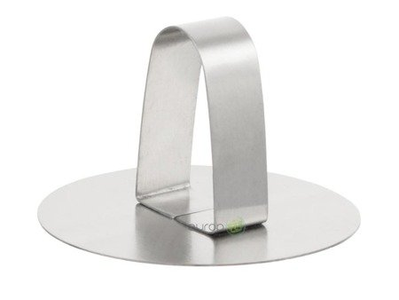 Formy do deserów KingHoff KH 4610 okrągłe z tłokiem popychaczem 3 elementy