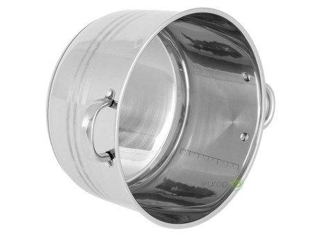 Garnek stalowy Edenberg EB 3022 pojemność 17.7 L