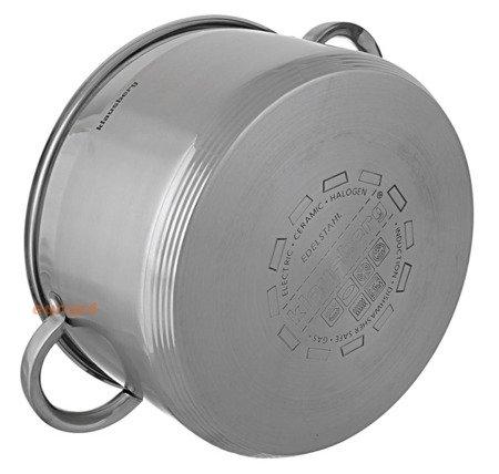 Garnek stalowy z pokrywką Klausberg KB 7129 pojemność 11.5 L