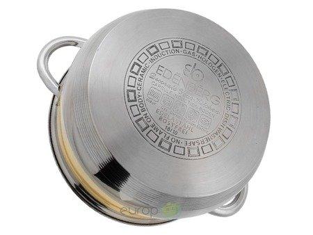 Garnki Edenberg EB 9981 Rondel + patelnia Zestaw garnków 12 elementów