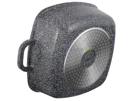 Garnki Hoffner HF 7767 Zestaw 3 granitowe garnki indukcyjne