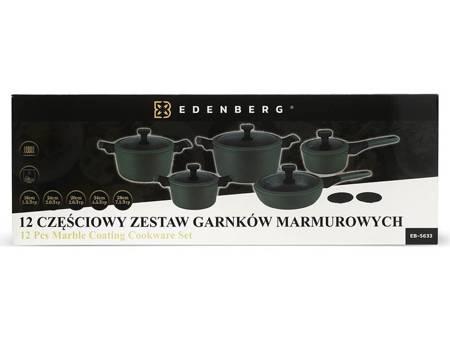 Garnki granitowe Edenberg EB 5633 Zestaw garnków indukcyjnych+noże BH 2111