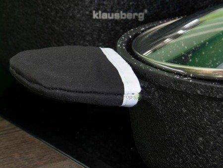 Garnki granitowe Klausberg 7360 Zestaw garnków na indukcję