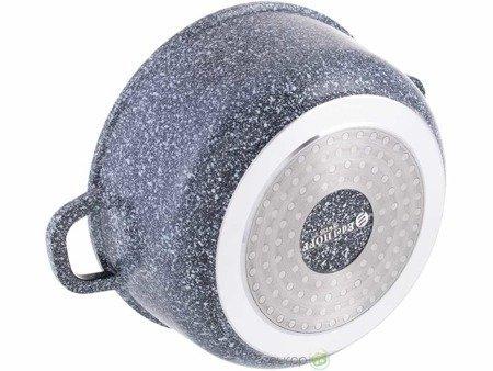 Garnki marmurowe Edenberg EB 8145 zestaw garnków indukcyjnych gaz