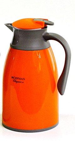 Konferencyjny termos Hoffman HF 3609 pojemnik dzbanek 1L pomarańczowy