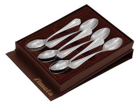 Łyżeczki do herbaty Amefa Duke 5280 6 szt w zestawie w pudełku