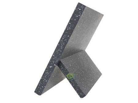 Magnetyczny stojak Rossner T 8096 na noże kuchenne Szary marmur nakrapiany