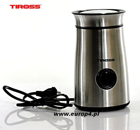 Młynek Tiross TS 532 elektryczny do mielenia kawy srebrny