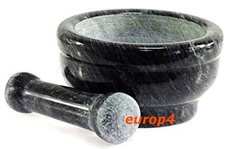 Moździerz EdelHoff EH 302 kuchenny granitowy SOLIDNY tłuczek ciemny