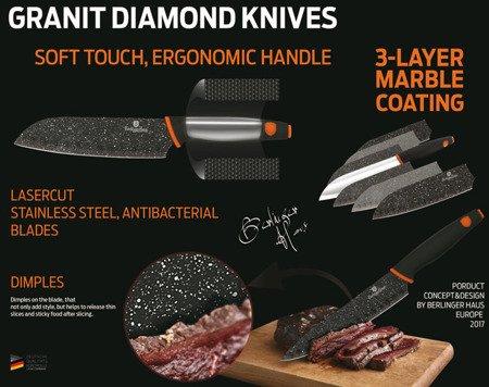 Noże Berlinger Haus BH 2117 kuchenne stalowe zestaw