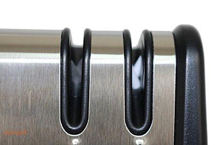 Ostrzałka KingHoff KH 1115 do noży noża podwójna zestaw Osełka