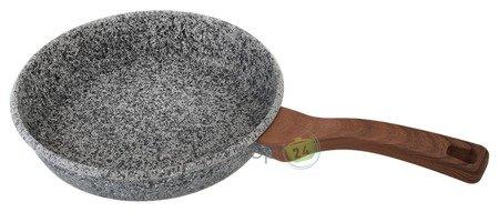 Patelnia EdelHoff EH 7644 - 26 cm Granitowa powłoka