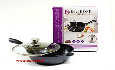 Patelnia marmurowa Edel Hoff EH 7515 - 24 cm