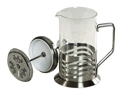 Szklany zaparzacz KingHoff KH 4834 do herbaty 600 ml ziół kawy dzbanek