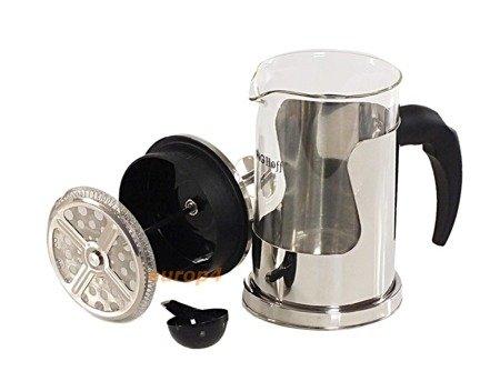 Szklany zaparzacz KingHoff KH 4839 do herbaty 350 ml ziół kawy dzbanek