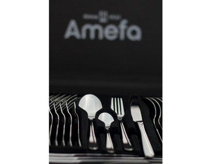 Sztućce obiadowe Amefa Sophie 1247 65cz. 12 osób w walizce 18/10