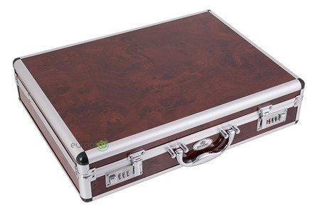Sztućce w walizce EdelHoff EH 8765 72 elementy 12 osób zestaw widelce+łyżki+walizka satyna