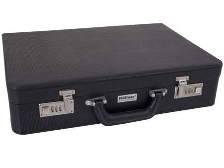 Sztućce w walizce Hoffner HF 2743 72 elementy 12 osób zestaw widelce+łyżki+walizka połysk