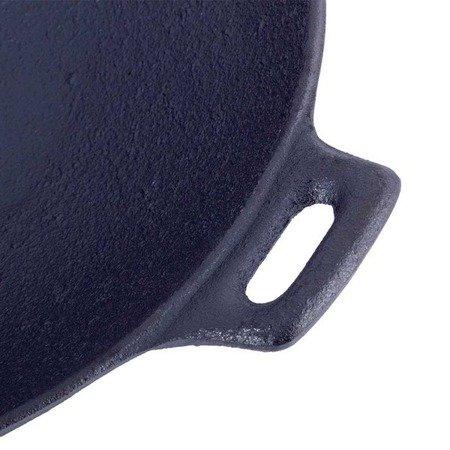 WOK Żeliwny indukcyjny Krisberg KR 7561 31 cm z pokrywką