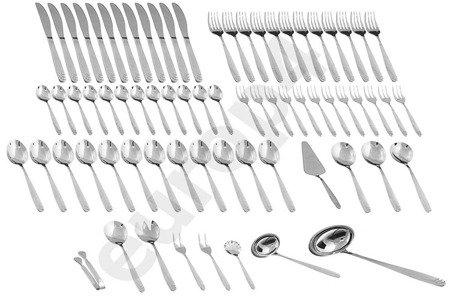 Walizka Sztućce Edenberg EB 5922 zestaw widelce noże łyżki