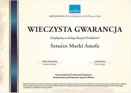 Widelec Stołowy Amefa Bologna 1570 1 szt stal szlachetna 18/0