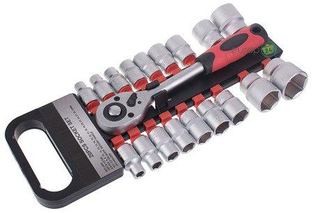 Zestaw kluczy Benson 10010 Nasadkowych 20 elementów Klucze Nasadowe