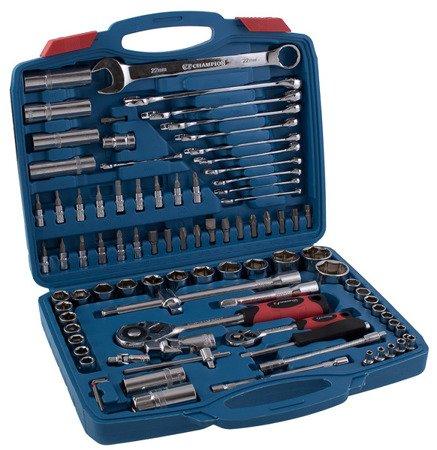 Zestaw kluczy w walizce Champion CP 248 94 el Klucze Nasadowe